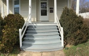 Westend Second Floor Porch Entry