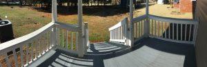 North Almond III Back Porch